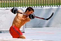 Shirtless Hockey Players / Half naked hockey players, oh yeah! / by Hockey Hunks