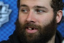 Playoff Beards / The Bearded Ones during hockey playoff season / by Hockey Hunks