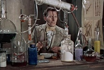 Halloween: Mad Science / Dr. Frankenstein, Mad Laboratory, Curiousities and Oddities. Apothecary and Lab equipment. / by Adalune