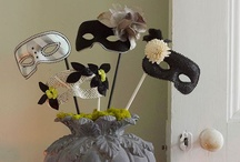 Halloween Party: Vintage Masquerade / A black and white vintage inspired masquerade party for Halloween. / by Adalune