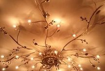 Glass, Globes, Lamps & Lighting / by Robbi Hill