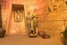 Halloween: Egyptian Mummies / Props and decor ideas for an Ancient Egypt/Mummy themed Halloween. / by Adalune