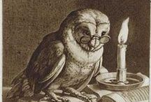 Grandfeather and Co. / a wise old owl and those he looks after / by Adalune