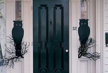 Halloween: Yard and Porch / Outdoor Decor and Yard Haunt ideas. A mix of scary and not so scary ideas. But absolutely no gore!  I want my house to be kid friendly or at least rated PG (PG-13 at the highest).  I prefer to set more of a spooky, gothic atmosphere rather then trying to scare people. / by Adalune