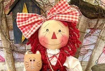 Handmade Dolls & Other Stuffed Cuties / by Nomadic Hermit