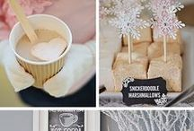 Hot Cocoa Bar Inspiration / A fun way to serve your guests hot chocolate with their favorite toppings with dessert, not only is it fun for the kids, but the adults too!  / by The Garrison - Garrison, NY