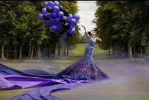 PURPLE-LICIOUS / People who love purple are intelligent & sharp.  They have an eye for detail and notice even those things that are mostly overlooked by others.  Purple lovers are very creative and have a refined taste.  Pin From: Amira Queenof Creativity / by ❤️Mz. Fashionista♥