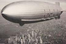 Zeppelin / Blimp / Airship / by Joeri Herremans