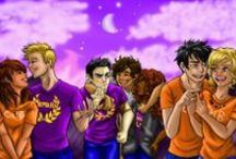 My Greek side! (And Roman And Egyptian) / Percy Jackson, and other Greek gods and demigods / by Kaitlyn Close