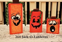Pumpkins, Fall and Halloween / by Debra Hawkins - Housewife Eclectic