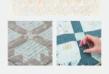 Tech Feature - Hand Quilting / Pick up issue 11 of Love Patchwork & Quilting for an in-depth look at Hand Quilting / by Sarah Griffiths