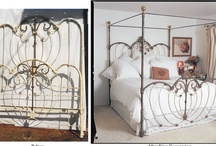 """""""Before & After"""" King Conversions / by Antique Iron Beds by Cathouse Beds"""