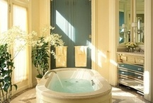 Beautiful Bathrooms / by Antique Iron Beds by Cathouse Beds