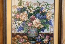 CrossStitch  WALL HANGING, Decor / by Kis Anna