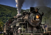 Trains / by Sherry Hunter