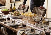 Beautiful Table settings / by Pamela Mikeals Wallace