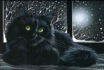 Kot-art ;) [Cat art] II / by Agnieszka Szmit