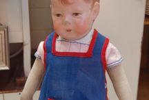 Kathe kruse doll / by Henny