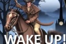 WAKE UP AMERICA!!! / by Jess