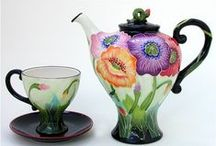Teapot &cup / by Esther Warner