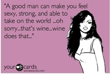 Say What? - Wine Quotes / We love talking about wine almost as much as we love drinking wine! / by Tipsy Totes