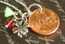 Postively Pennies / Many lucky pennies here!  / by Cindy Frazier