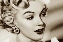 """Marilyn / You know that question that is often asked' """"If You could meet or even have a long conversation with a famous person- living or dead, who would it be? """" You all know the answer to that!! / by Just Me Cepeda"""