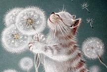 Cats in Art / by Marilyn B