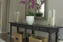 Decorate: Welcoming Entryways / Entryways and Mudrooms  / by Toi Landon