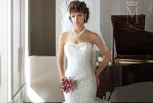 Ruffle and Pleated | Wedding Gowns / by Mary's Bridal