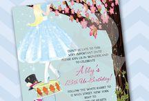 Birthday Invitations / by Blue Sugar Press - Invitations