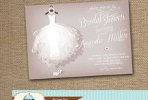 Bridal Shower / Bridal Shower Invitations / by Blue Sugar Press - Invitations