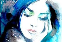 ᗩᖇ☂ / Paintings, prints, illustrations, caricatures, sketches, tattoos, mosaics, carvings, etc. / by ღ↫❀ Ḱᗩᒪᙓ〇ᗩᒪ〇ᖺᗩ ❀↬ღ