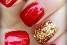 Red nail / by Nancy Mats