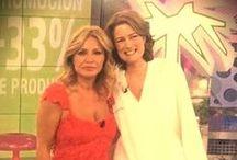 Un día en la tele en Sálvame con Obegrass / En el programa Sálvame de Tele5 presentando Obegrass con Cristina Tárrega. / by farmacia-morlan.com