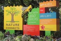 Nature Connects, Art with LEGO(r) Bricks / Exhibit coming to San Antonio Botanical Garden Fall 2014.  Plan to visit Nature Connects, Art made from LEGO(r) Bricks.  Your whole family will love seeing these amazing sculptures by Artist Sean Kenney. / by San Antonio Botanical Garden