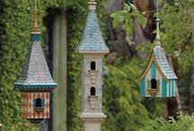 Birdies Home Sweet Home and Feeders / by Nancy Evans