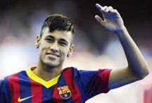 Neymar / So basically when I say soccer players I mean neymar and some messi                    / by Julia Mirra