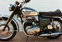 BSA Motorcycles / My last bike, 40 years ago, was a black 1970 BSA Thunderbolt, bought new. I coveted black BSA's all through high school, rode it for 2 years, gave it up for marriage. / by Dave Armishaw