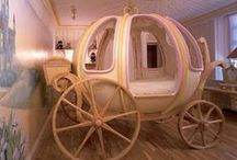 ( UNSUAL BED'S  FOR KIDS ) / Special Bedrooms   ( Princess Bed's and F1 Bed's  / by Gillian Haberfield