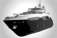 Renderings / Good example of well imagined and detailed yacht concept renderings / by Sailplan