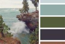 Inspiration couleurs, atmosphères et formes / Les couleurs que j'aimerais retrouver dans mon blog / by eurielle bouraï