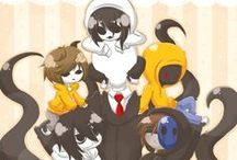 Creepy pasta / Please like before u pin from my board. Or else .... ^ω^ / by Jeff killer