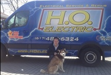 Dogs on the site!  / by H.O. Electric