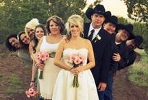 Let's Get Hitched: Country Weddings / Is your dream wedding agriculture inspired?  If so, check out these posts featuring picture ideas, decoration ideas and more for your big day! / by IL Corn
