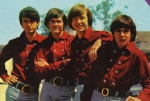 Listen To The Band   / I love THE MONKEES! (Davy Jones, Micky Dolenz, Mike Nesmith, and Peter Tork). Their zany antics, sweetness, charm, adorable awkwardness, wackiness, and clumsy behavior all combined with good looks and fantastic music and singing talent all had me hooked at first sight and sound. I've never looked back since. The Beatles may have paved the way for them, but The Monkees are my all time top favorite band. Always were, always will be.  :) / by Laura Lang