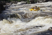 Maine Whitewater Rafting / Rafting is Mother Nature's perfect rollercoaster ride. Whether you are a first-timer, family, or high adventure enthusiast, you'll find your perfect rafting vacation here at Northern Outdoors. Choose from three unique #Maine rivers: the Kennebec, the Penobscot, and the Dead. / by Northern Outdoors