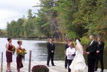 """Maine Adventure Weddings / Northern Outdoors is a perfect destination location for Adventure Weddings. Northern Outdoors is a perfect place to throw a large """"Adventure Wedding"""" or a small and intimate Family gathering. Expect exceptional service, attention to all the important details - big and small, and a huge amount of fun with a wedding at Northern Outdoors.  / by Northern Outdoors"""