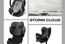 Storm Cloud / New season – new colors! CYBEX embraces a whole range of new fashionable shades for the CYBEX 2014 collection.  / by CYBEX