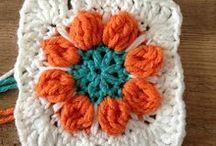 QUADRADO DE CROCHE (CROCHET SQUARE) / QUADRADINHOS DE CROCHÊ (CROCHET SQUARE) / by Sônia Maria - blog Falando de Crochet